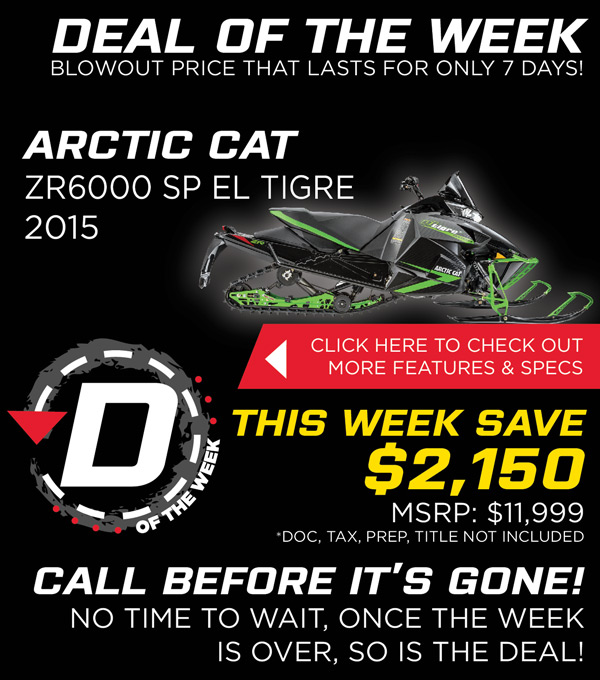 Deal of the Week, Act Fast Before the Deal is Gone!