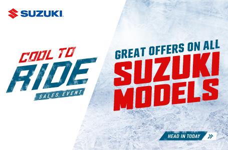 Suzuki's Cool To Ride Sales Event
