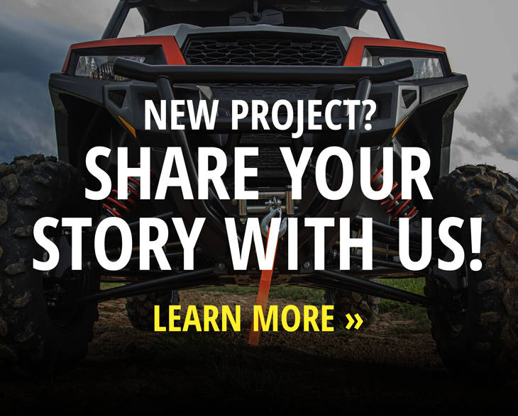 NEW PROJECT - SHARE YOUR STORY WITH US!